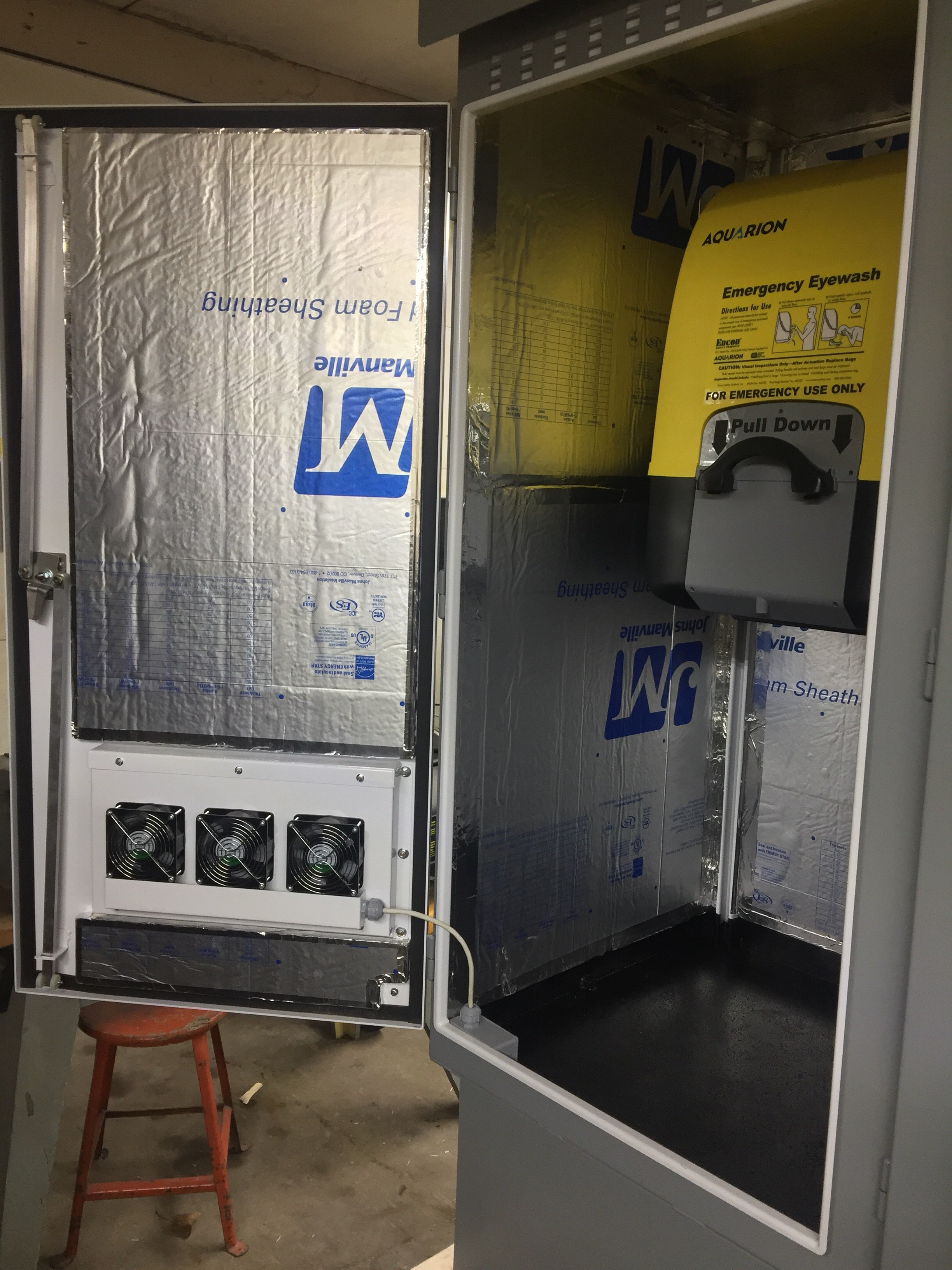 130VDC Battery Cabinets - Dowd Battery