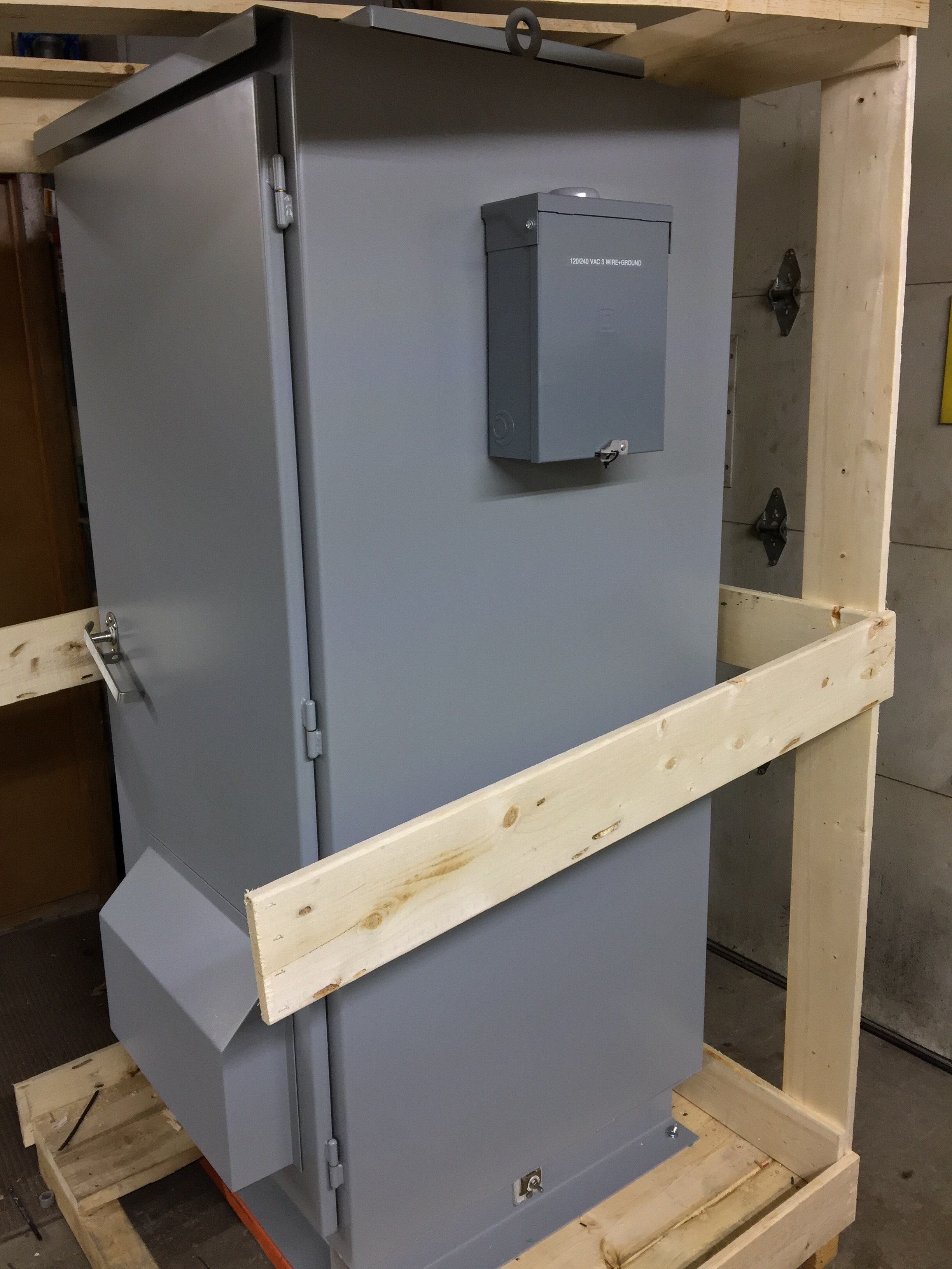 24VDC BATTERY CABINETS - Dowd Battery